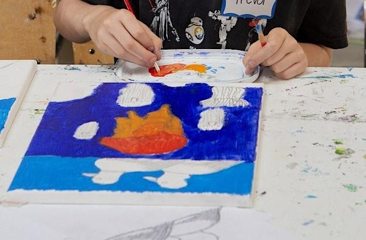 Children's Summer Art Workshop: Nature's Imprint image