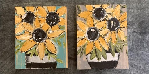 Sunflowers with Redeemed Home Goods