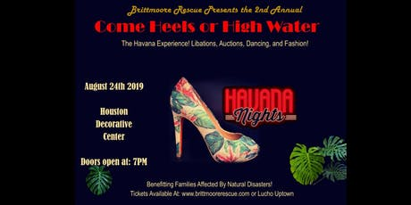 2nd Annual Come Heels or High Water 2019 tickets