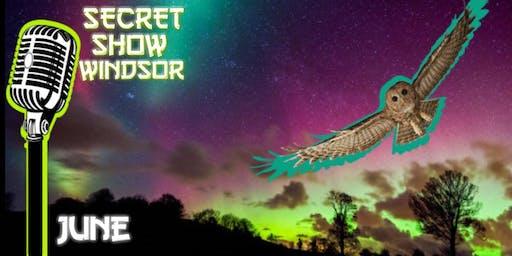 SecretShowWindsor (Stand up comedy at Blind Owl)