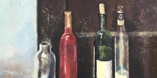 Intro to Oil Painting, Still Life