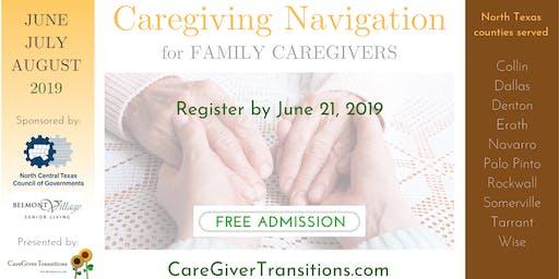 Caregiving Navigation for Family Caregivers