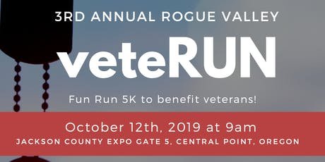 Rogue Valley VeteRUN 5k tickets