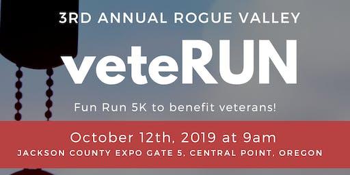 Rogue Valley VeteRUN 5k