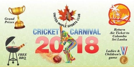 UMSC Cricket Carnival - 2019 tickets