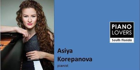 BRAHMS & MUSSORGSKY with pianist ASIYA KOREPANOVA tickets