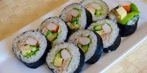 Make your own Sushi Roll class at The Vineyard at Hershey
