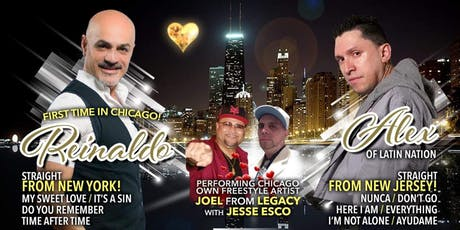 LATIN FREESTYLE CONCERT / DANCE PARTY tickets