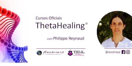 ThetaHealing Curso DNA Avançado - Salvador - Philippe Reynaud bilhetes