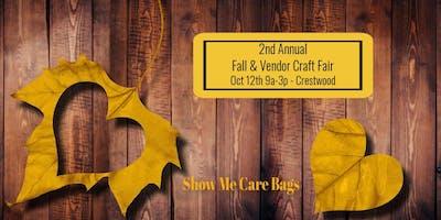 2nd Annual Fall Vendor & Craft Fair