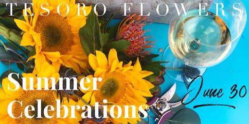 Summer Celebrations Floral Workshop