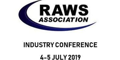 RAWS Association Industry Conference 2019 tickets
