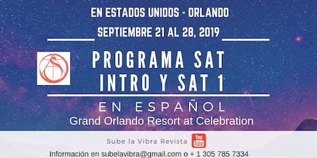 Programa SAT INTRO y SAT 1 tickets