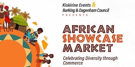 AFRICANSHOWCASE MARKET/FESTIVAL tickets