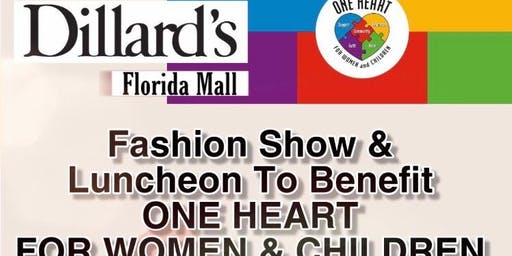 Fashion Show / Luncheon /  Fundraiser for One Heart for Women and Children
