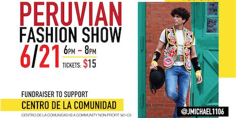 Peruvian Fashion Show in New London tickets