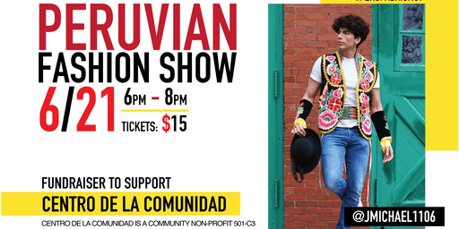 Peruvian Fashion Show in New London