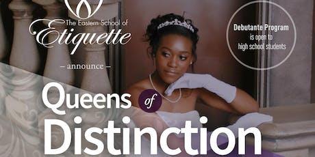 Queens of Distinction Debutante Orientation tickets