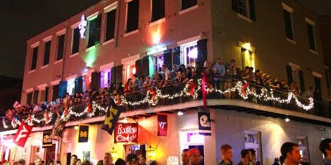 Mardi Gras Balcony Party Friday Gras