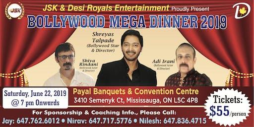 Bollywood Mega Dinner 2019 with Bollywood Star Shreyad Talpade