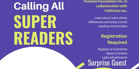 CALLING ALL SUPER READERS tickets