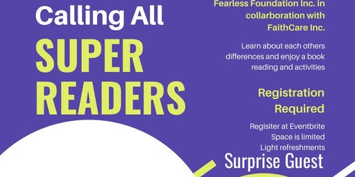 CALLING ALL SUPER READERS