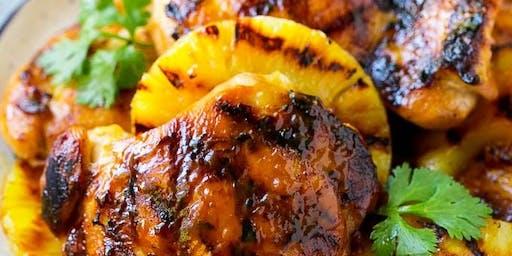 Canada Day - Hawaiian Luau - BBQ Chicken Dinner