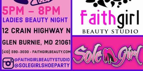 Ladies Beauty Night tickets