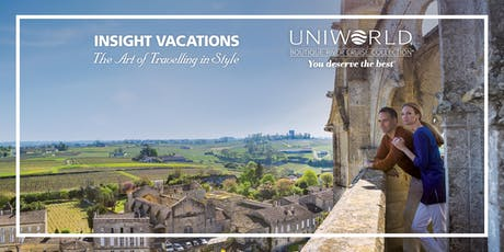 Adelaide | Evening Showcase  | Uniworld River Cruises & Insight Vacations tickets