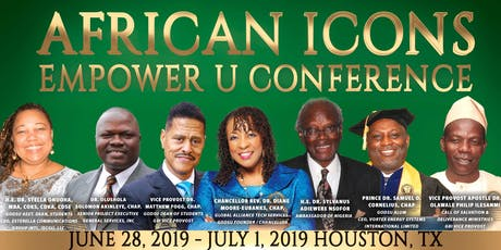 AFRICAN Icons Empower U Conference & Graduation Houston Texas tickets