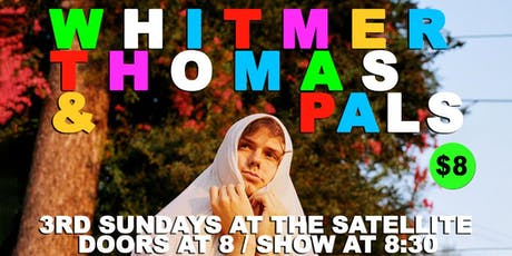 Whitmer Thomas & Pals with Special Guests & Performances tickets