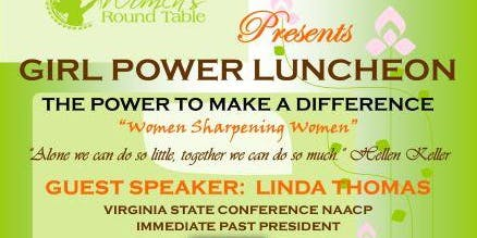 GIRL POWER LUNCHEON - THE POWER TO MAKE A DIFFERENCE