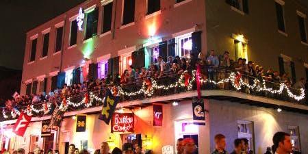 Mardi Gras Balcony Party Bacchus Sunday