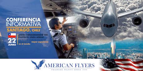 Conferencia Informativa de American Flyers en SANTIAGO, CHILE entradas