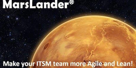MarsLander agile Service Management & ITIL4 awareness business simulation - introduction tickets