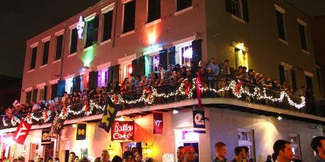 Mardi Gras Balcony Party   Lundi Gras