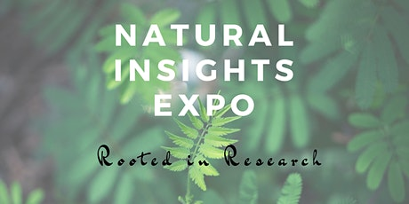 Natural Insights Expo tickets