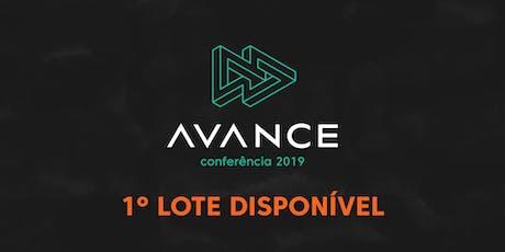 Conferência AVANCE ingressos