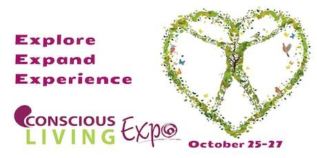 Conscious Living Expo October 25-27 tickets