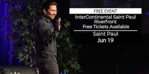 (FREE) Millionaire Success Habits revealed in Saint Paul by Dean Graziosi