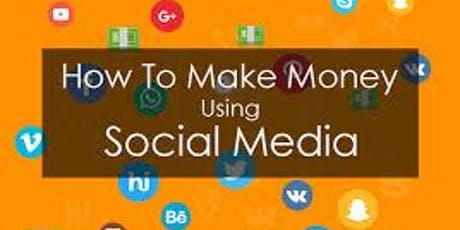 How To make Money Using Social Media 003 tickets