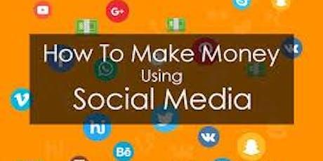 How To make Money Using Social Media 003 tickets