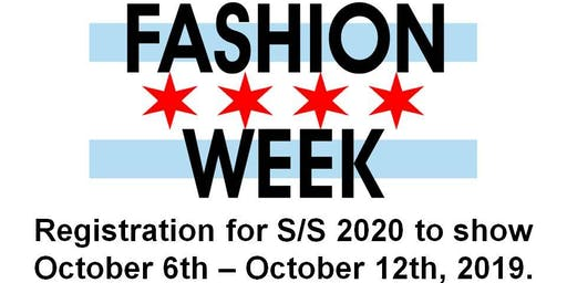 Fashion Designer Call for Chicago Fashion Week Powered by FashionBar
