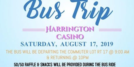 NCNW Stafford-Fredericksburg Harrington Casino Bus Trip tickets