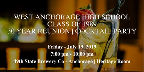 West Anchorage High School Class of 1989 Reunion tickets
