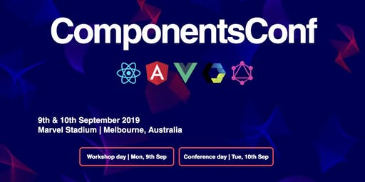 ComponentsConf | JavaScript Conference | React | Angular | Vuejs | TensorFlow