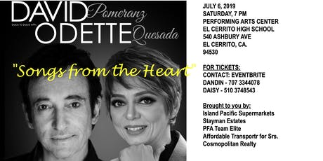 """SONGS FROM THE HEART"" tickets"