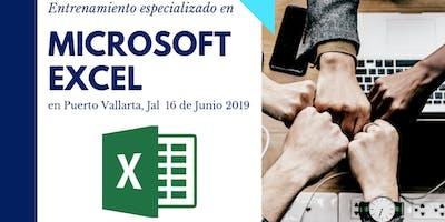 Entrenamiento en el uso de Microsoft Excel