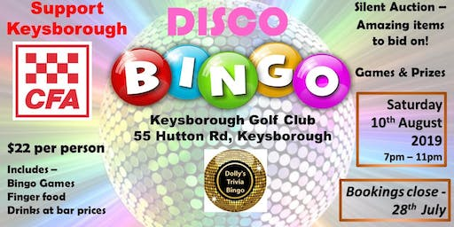 Disco Dolly Bingo-Keysborough Golf Club