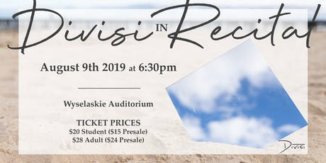 Divisi in Recital tickets